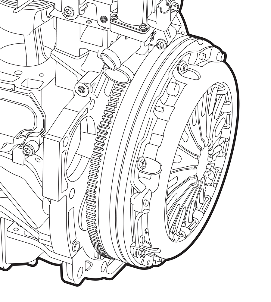 Ford Engine Illustrations