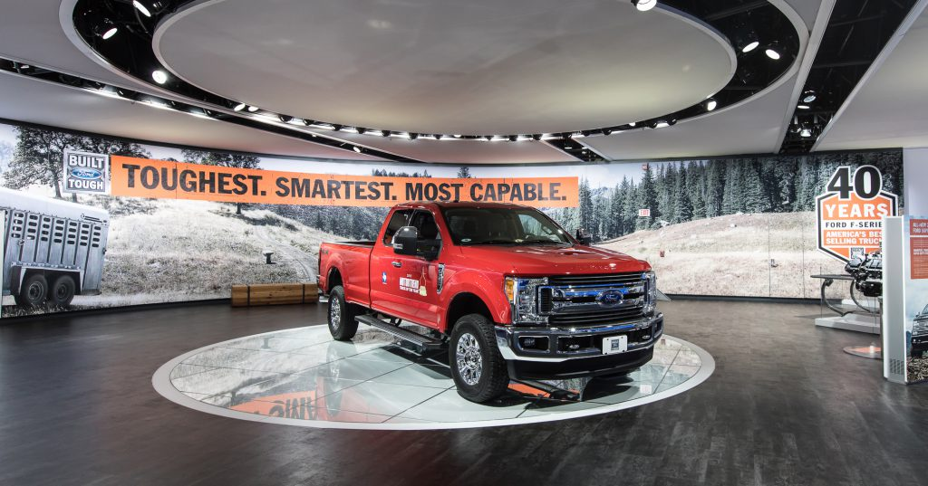 North American International Auto Show Wall Graphics