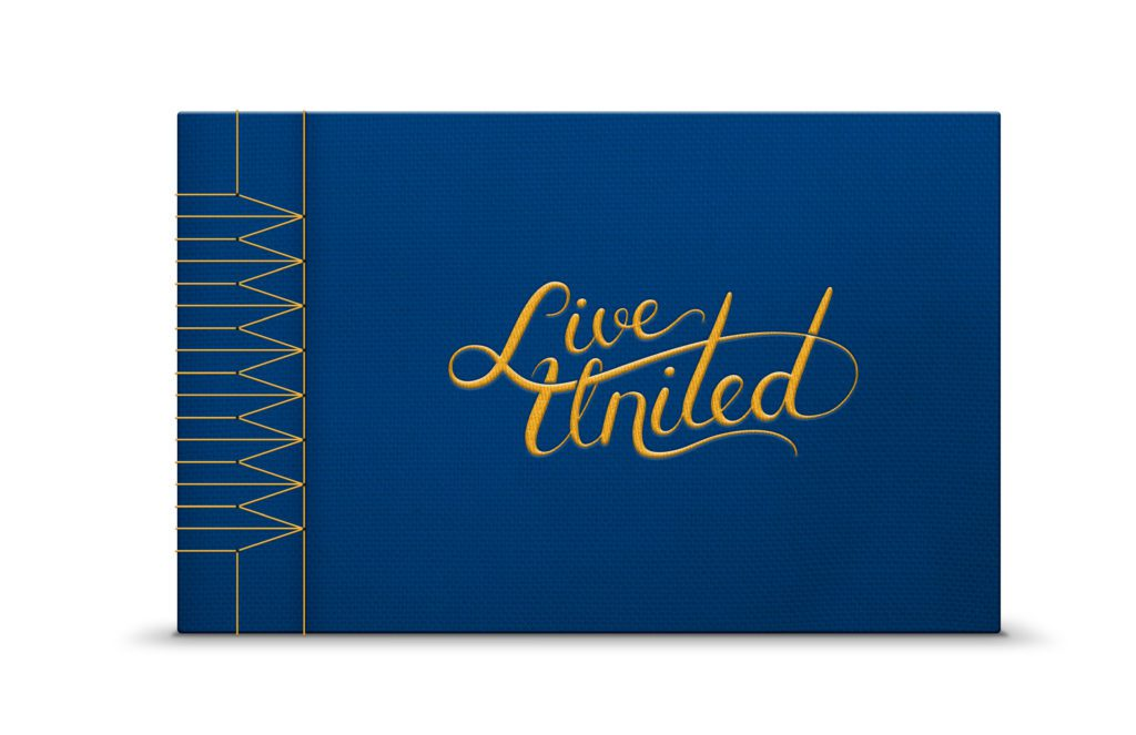 United Way of Southeastern Michigan Coffee Table Book Design