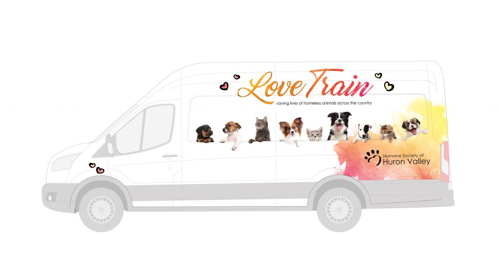 Humane Society of Huron Valley Love Train