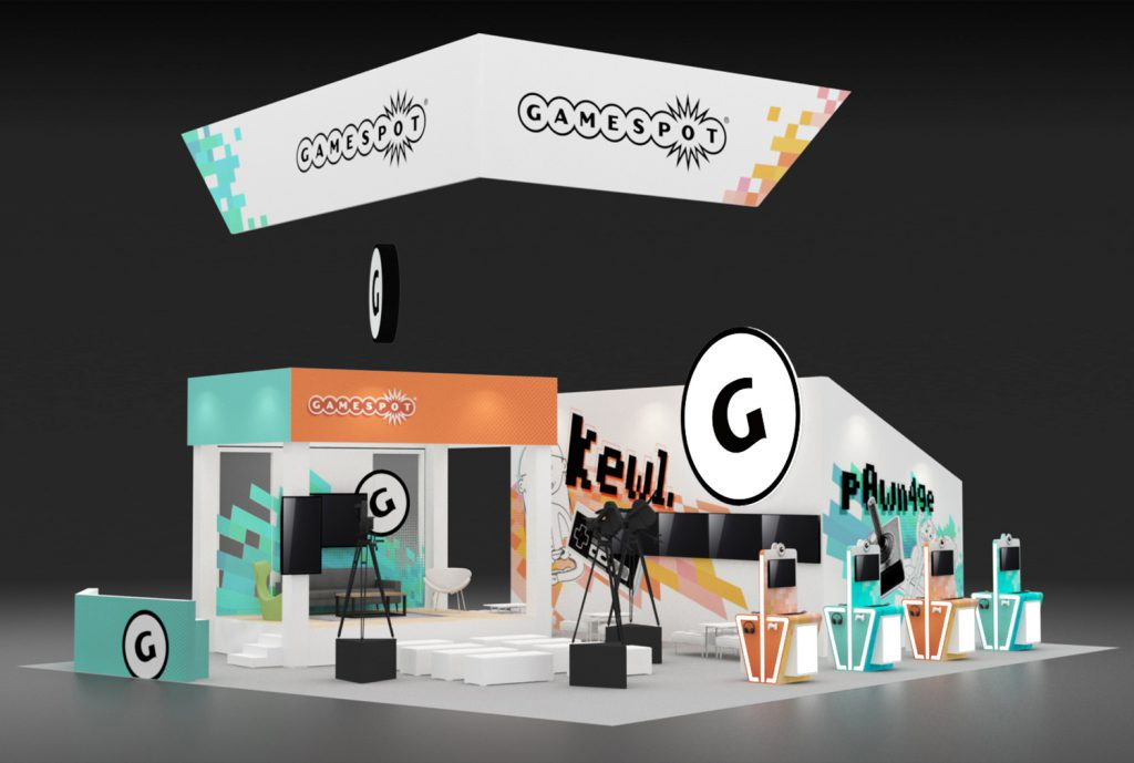 Gamespot E3 Booth Design